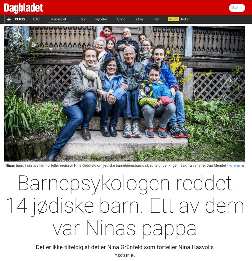 Dagbaldet Magasinet 17. oktober 2015