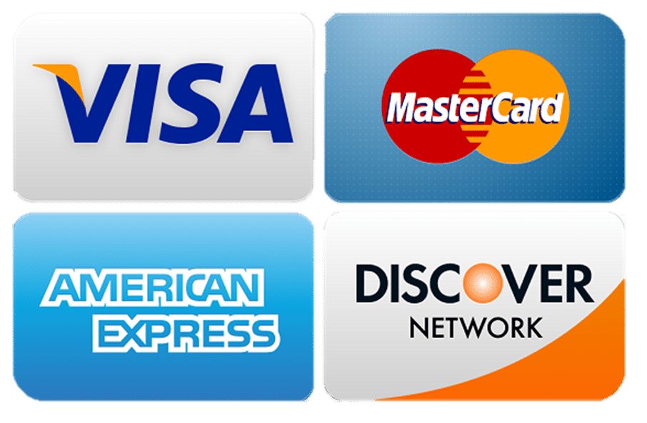 Credid card logos