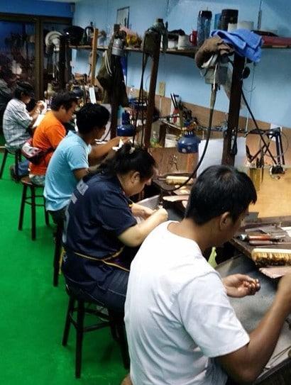 Fabrikkarbeidere
